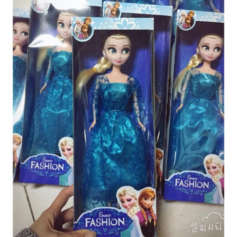 冰雪奇緣公主芭比娃娃公仔娃娃女孩兒玩具最愛洋娃娃女孩 冰雪奇緣芭比玩具