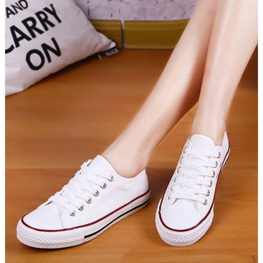 大 帆布鞋黑色白色平底鞋休閒鞋
