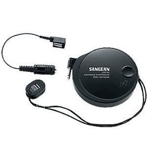 SANGEAN 山進AM FM 收音機調頻調幅短波外接天線ANT 60 隨身型收音機外接天