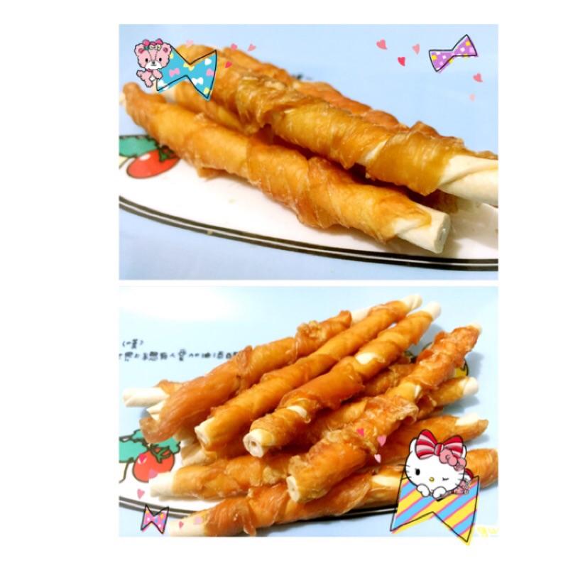 Happy 狗樂園軟Q 雞肉牛奶捲心酥