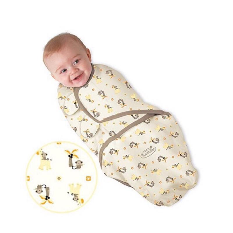 美國Summer infant SwaddleMe 懶人包巾嬰兒包巾純棉款簡易裝 180