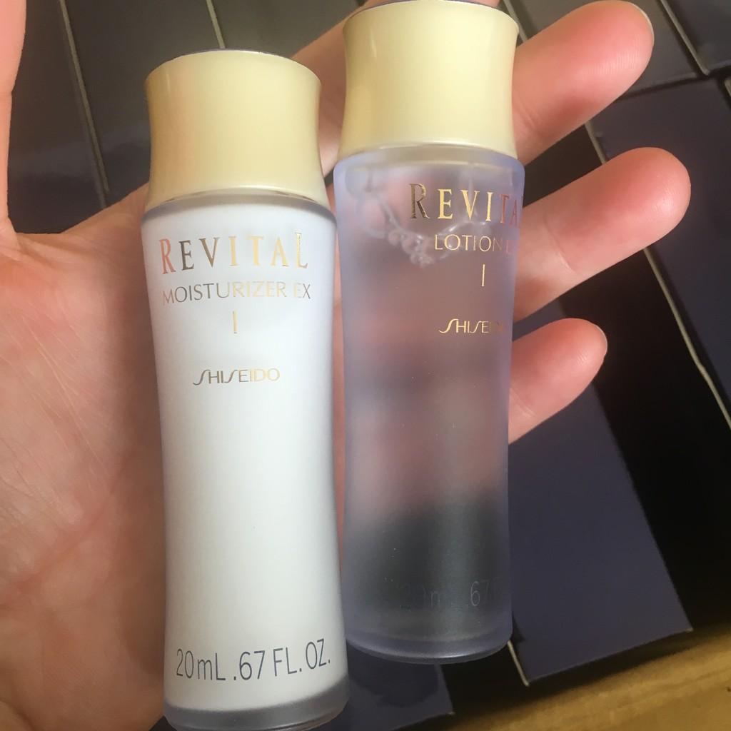 蕎蕎小鋪SHISEIDO 資生堂莉薇特麗全效化妝水20ml +全效乳液20ml 滋潤型清爽