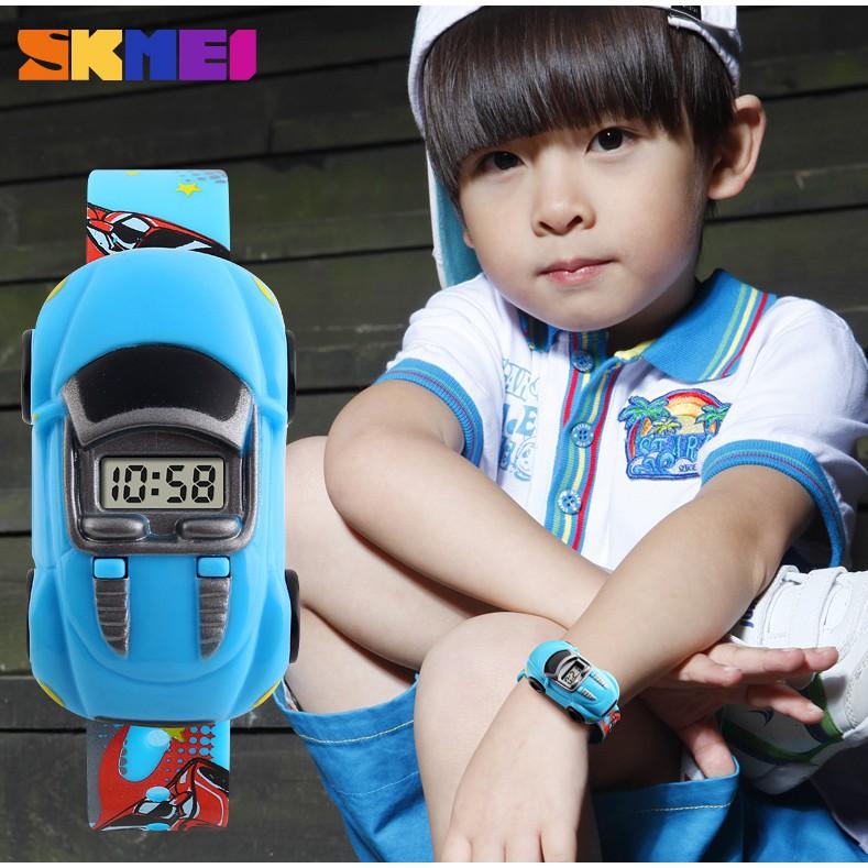 Skmei 1241 数码手表儿童卡通创意手表