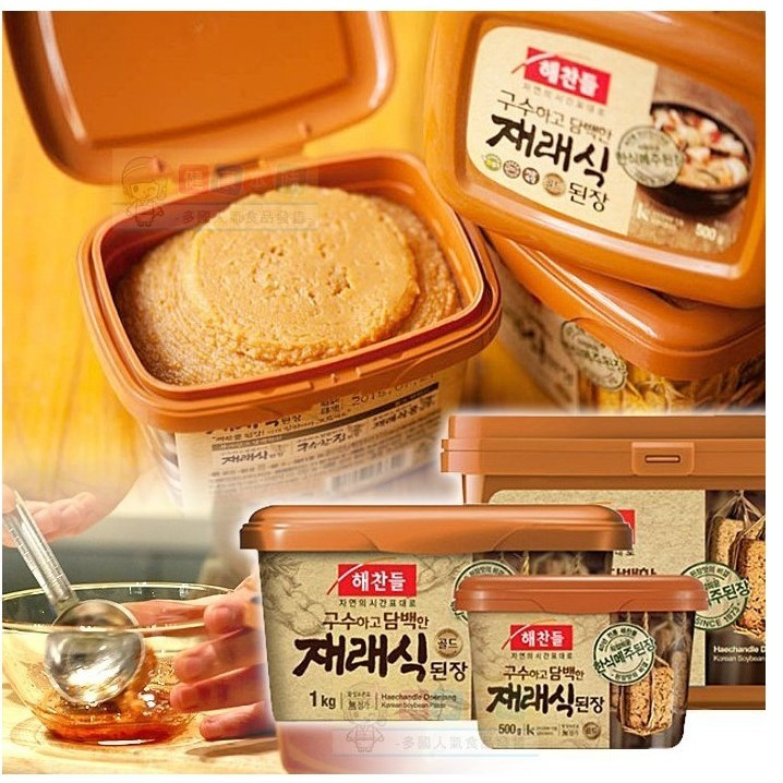 Gina 小舖韓國CJ 味噌醬大醬黃豆醬500g