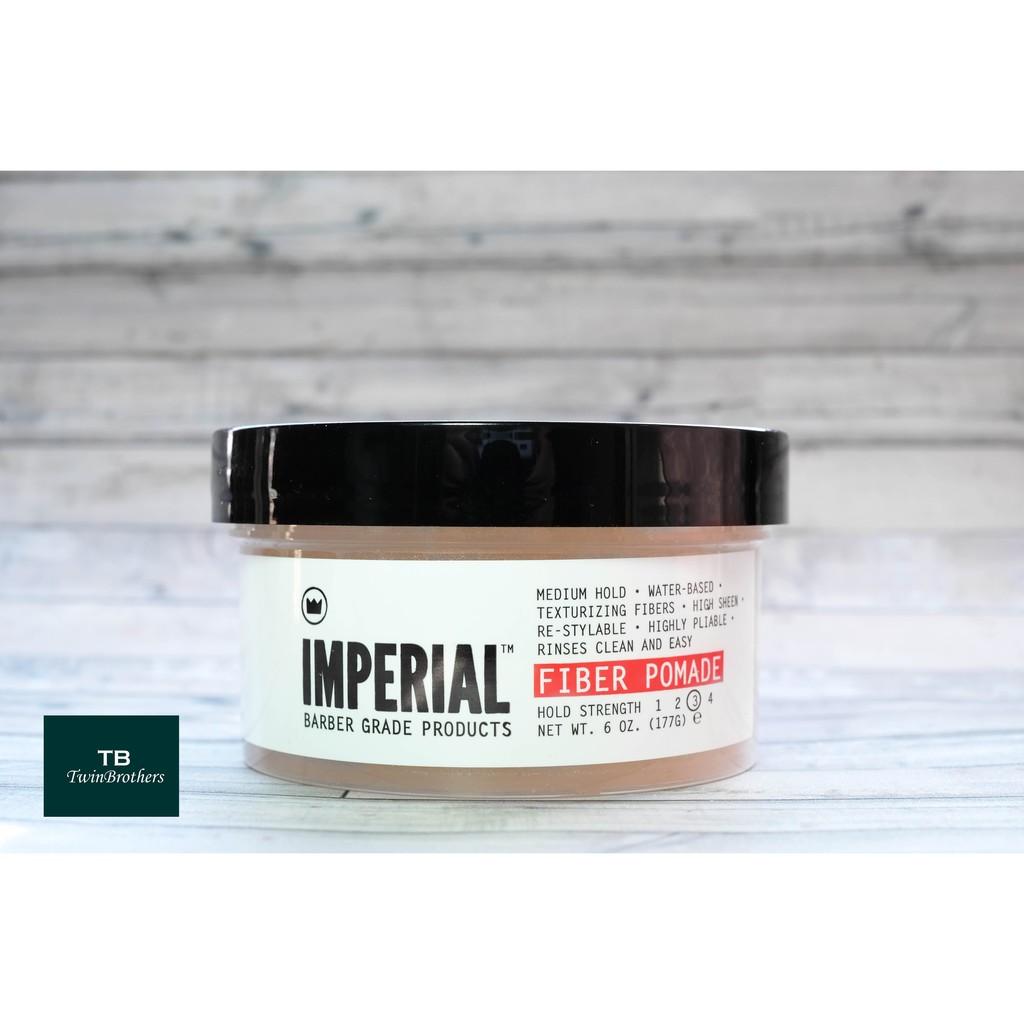 Imperial Fiber Pomade 水洗性髮油2oz 6oz Twinbrothe