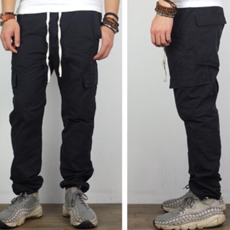 原創品牌~jogger pants 側口袋款縮口工作CHINO 褲修身版型共2 色