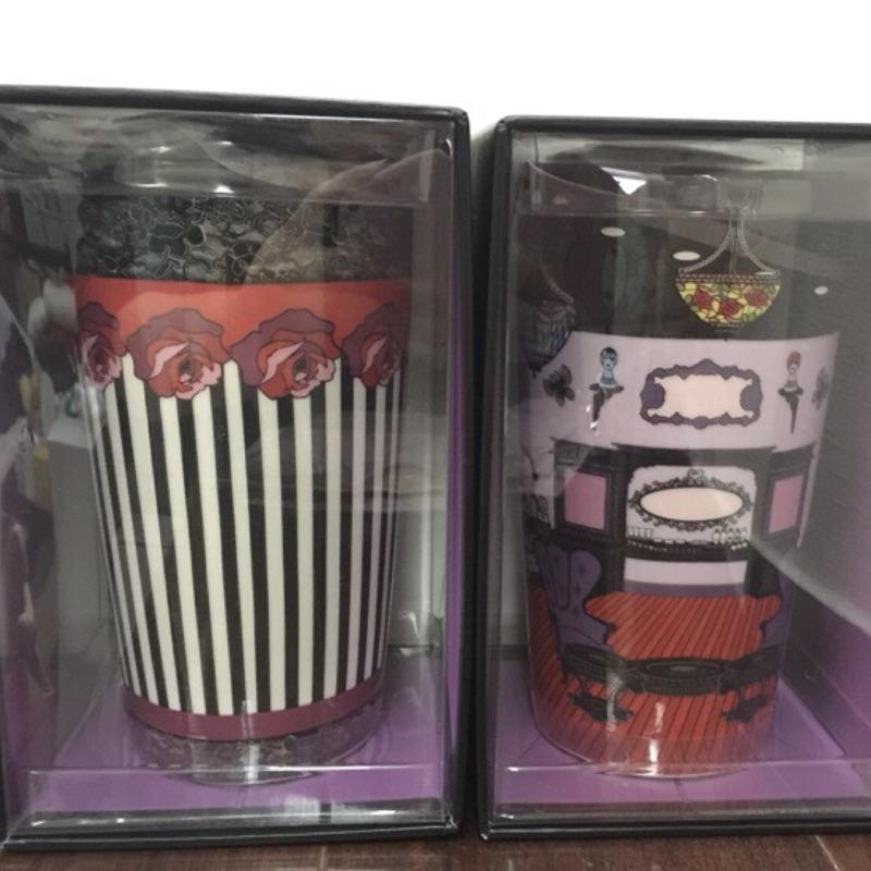 星巴克馬克杯不繡鋼保溫瓶提袋隨行卡都只有一個喔!Anna Sui X Starbucks