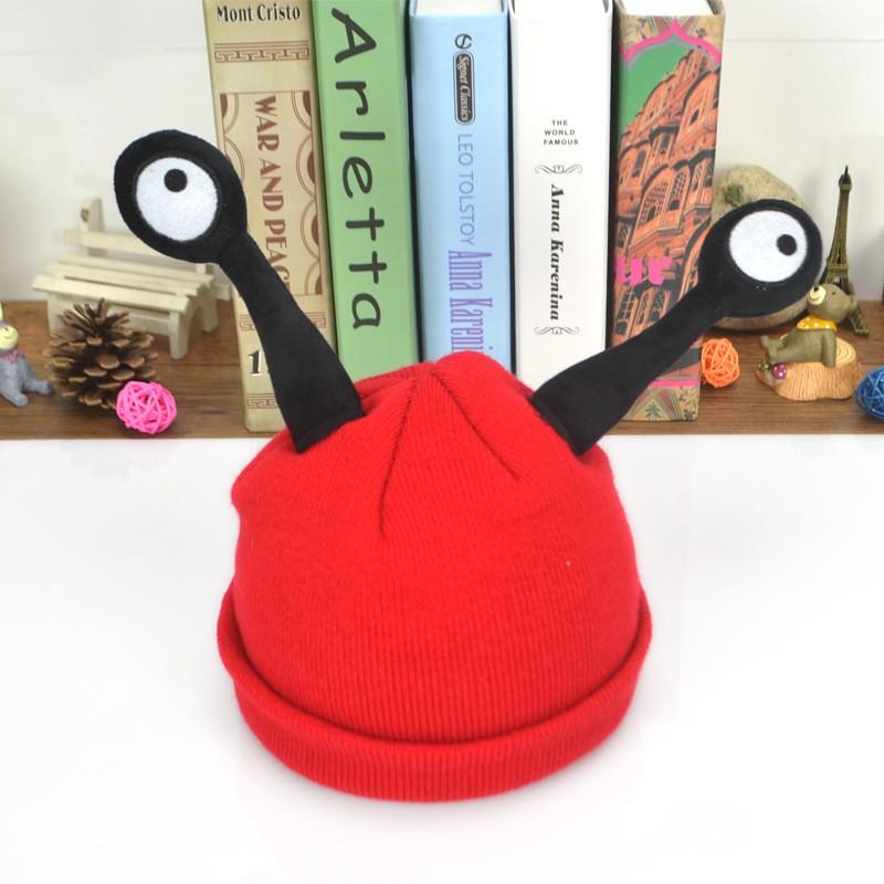 現預搞怪昆蟲帽加絨款兔耳針織帽寶寶帽毛帽兒童毛線帽2 4 歲 毛帽兒童保暖帽中小童毛帽3