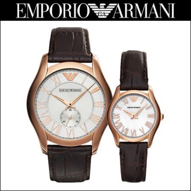 ⚠️⚠️對錶價!!EMPORIO ARMANI 亞曼尼classic 都會 對錶情人節 界