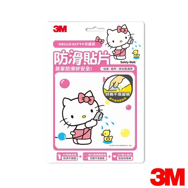 ~3M 下殺 ~3M 魔利浴室 Kitty 防滑貼片洗澡款6 片裝