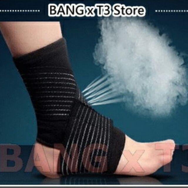 ~BANG ~超 可調式護踝纏繞式8 字護踝護踝透氣籃球護踝 護踝開放式護膝護具防扭傷~R