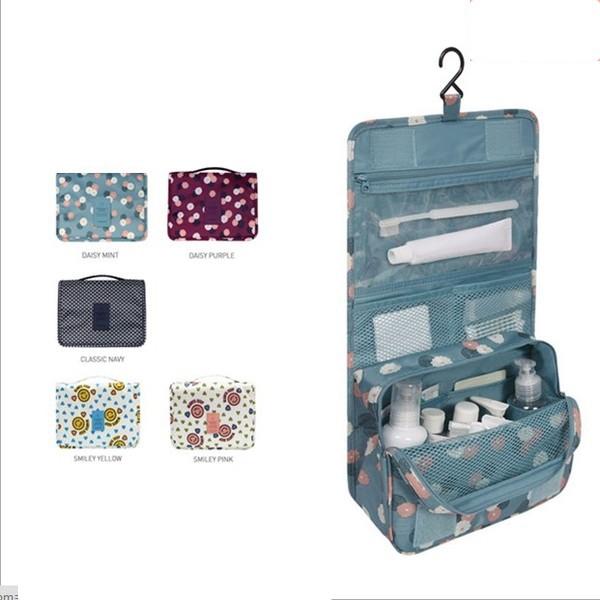 旅行便攜化妝包女士手提大容量化妝品收納包化妝袋出差防水洗漱包
