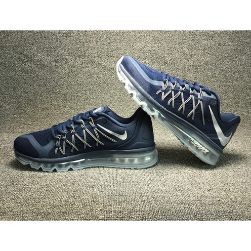 Nike 耐克AIR MAX698902 405 網面透氣全掌氣墊跑步鞋男鞋