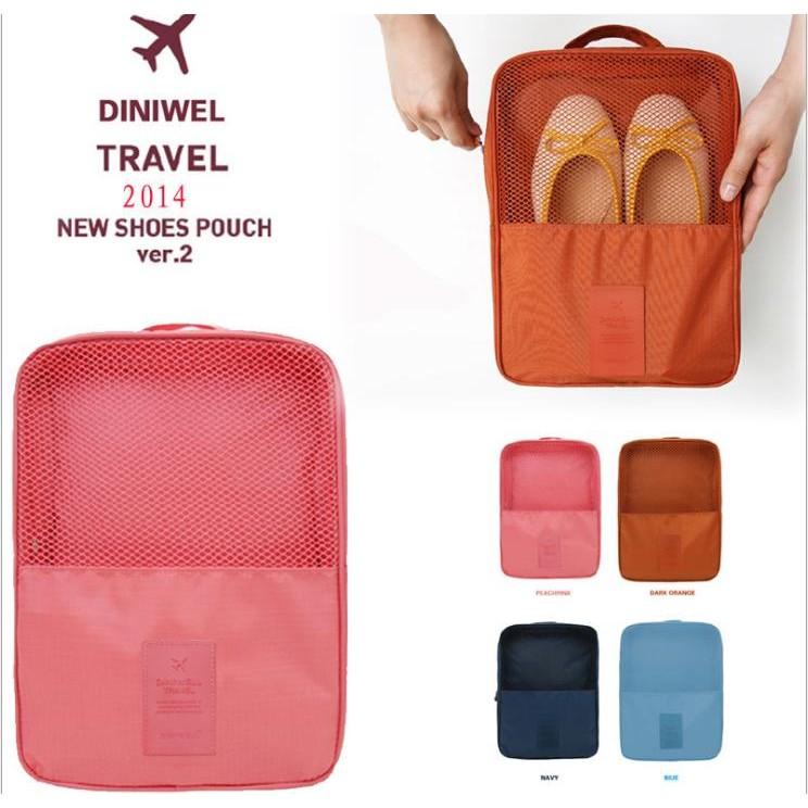 ~B S SHOP ~旅遊包三雙鞋子收納包韓國小飛機手提包包鞋包高容量內搭褲襪內衣