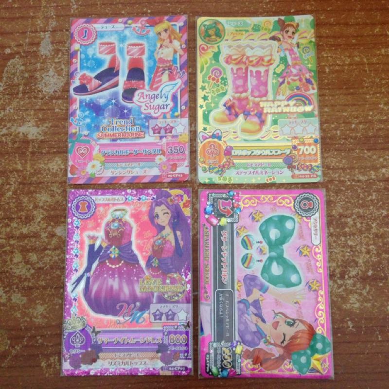 aikatsu 偶像學園散卡單售小葵小莓美月夏樹