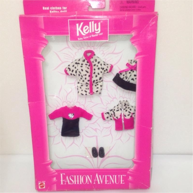 Colorful DAY 美泰兒mattel 芭比小凱莉Kelly 超 秀服裝組盒裝