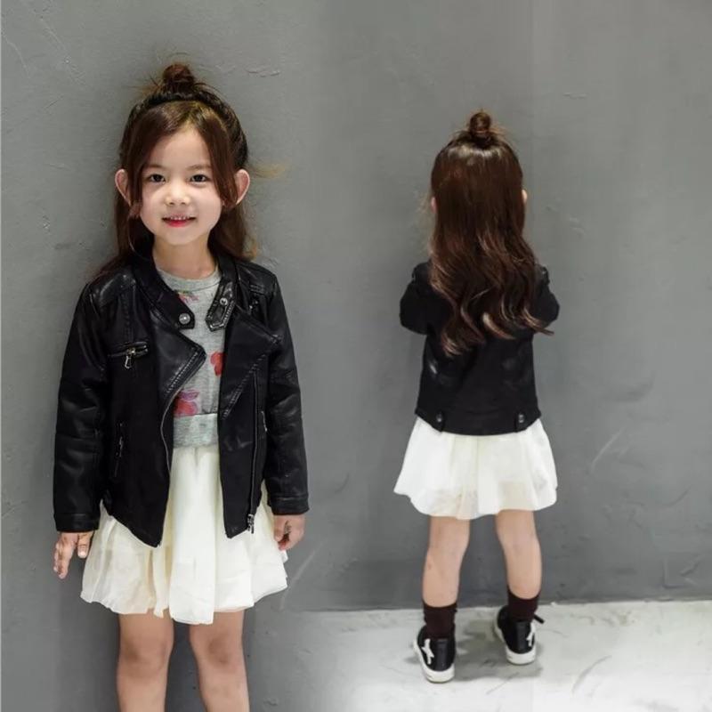 2016 兒童帥氣機車皮外套