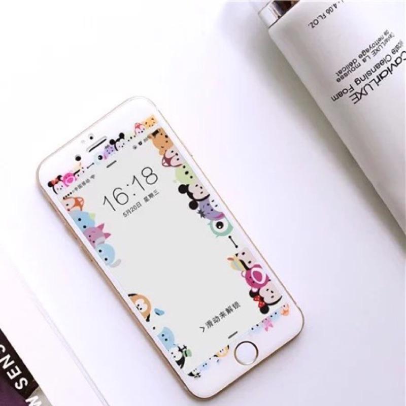 在台,今天買今天發iPhone6 6plus iPhone7 7plus 迪士尼滿版玻璃貼