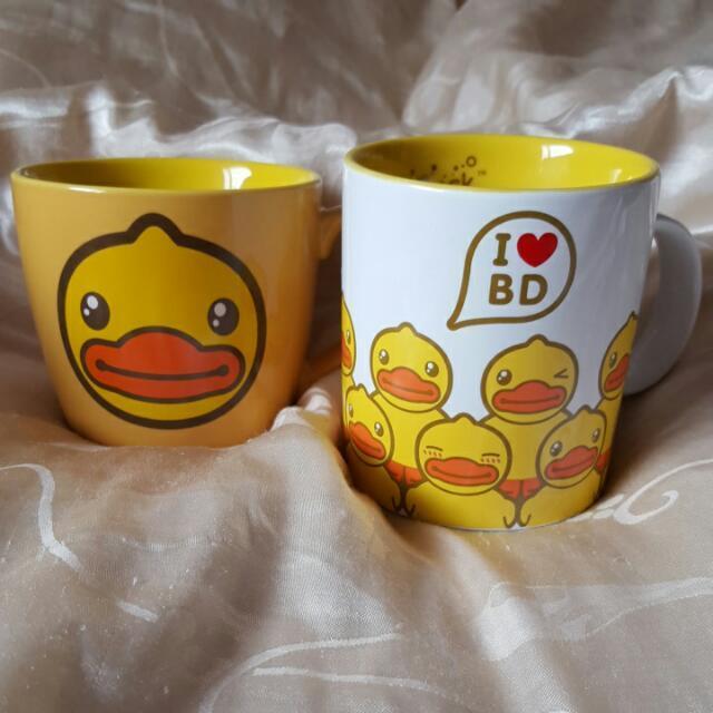 B DUCK 黃色小鴨馬克杯