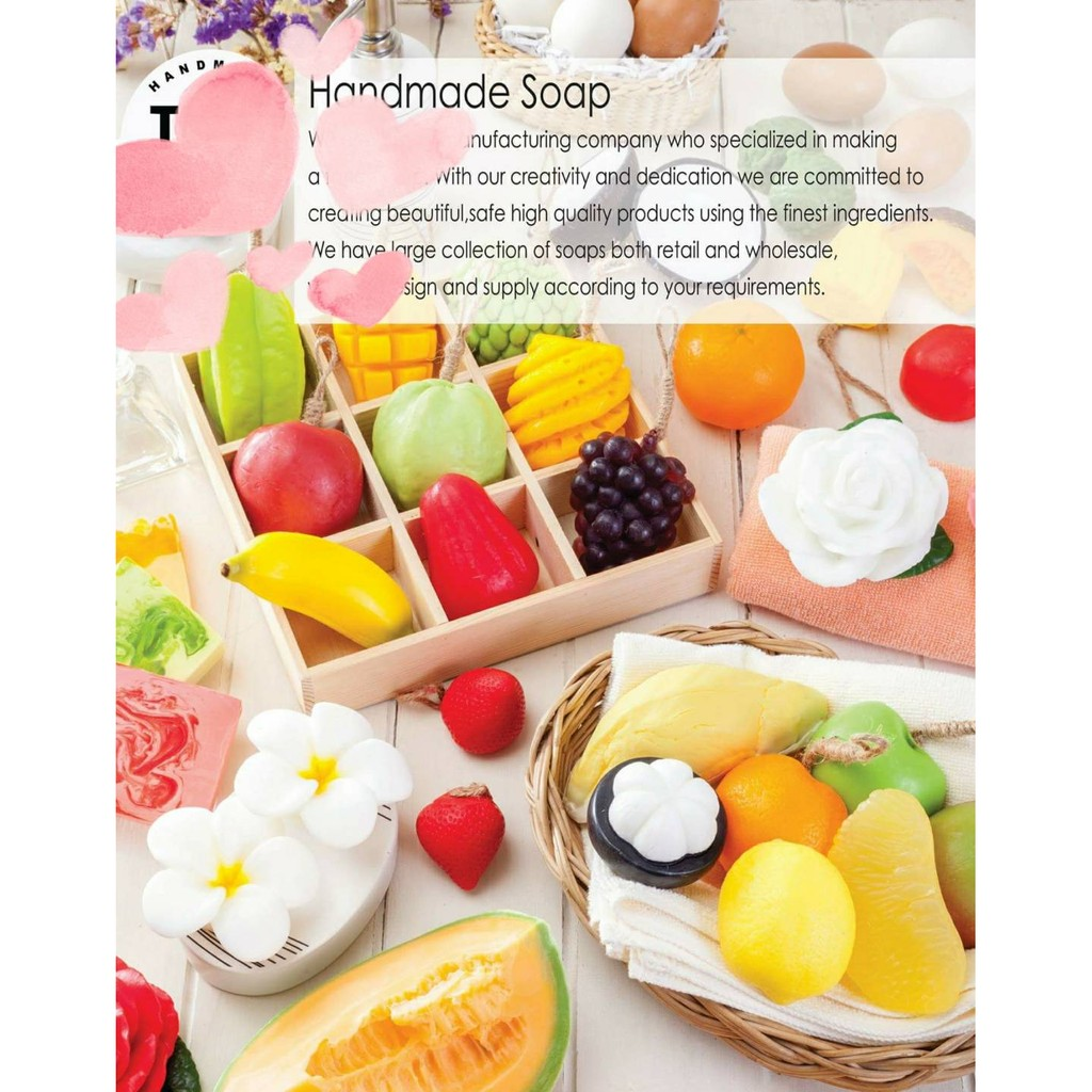 正品曼谷展覽購回THAI TIER 泰國水果 皂天然精油果香~Moi Natural Pr