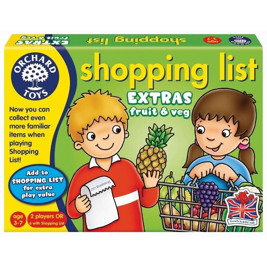 貨英國~Orchard Toys ~幼兒 配對遊戲shopping list 蔬果組桌遊