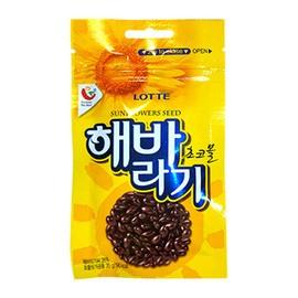 韓國樂天葵瓜子巧克力3 包組吃上一口 停不了