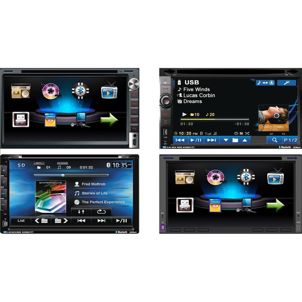 出貨6 2 吋多 汽車音響主機2DIN 繁體觸控螢幕MP3 雙碇機大面板主機讀卡機非安卓機