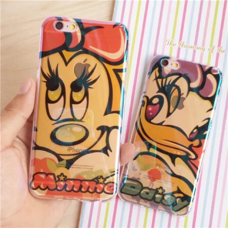 ~ 手機殼~蘋果iphone6 6s plus 迪士尼黛西米妮保護殼保護套