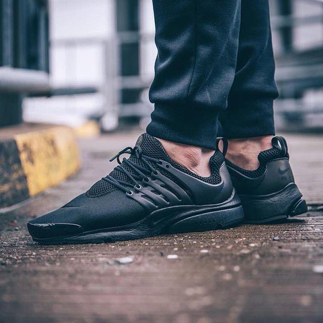 Nike Air Presto 2016 舒適 鞋慢跑鞋男鞋全黑305919 009