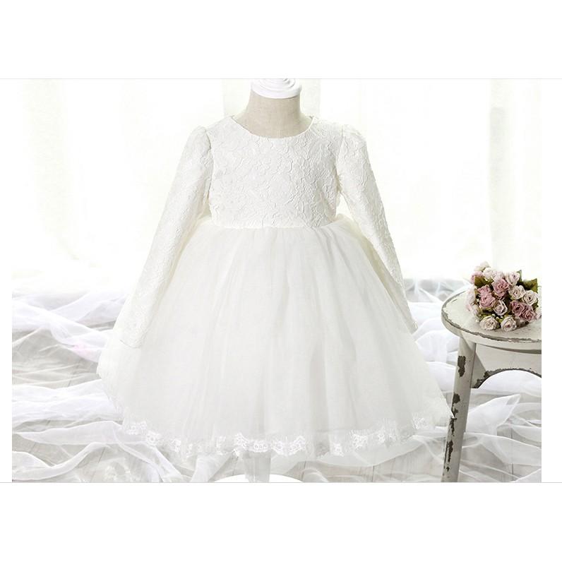唯唯小舖 款LI208 t t 韓國花童禮服女童公主裙兒童婚紗禮服寶寶生日蓬蓬裙 款連衣裙