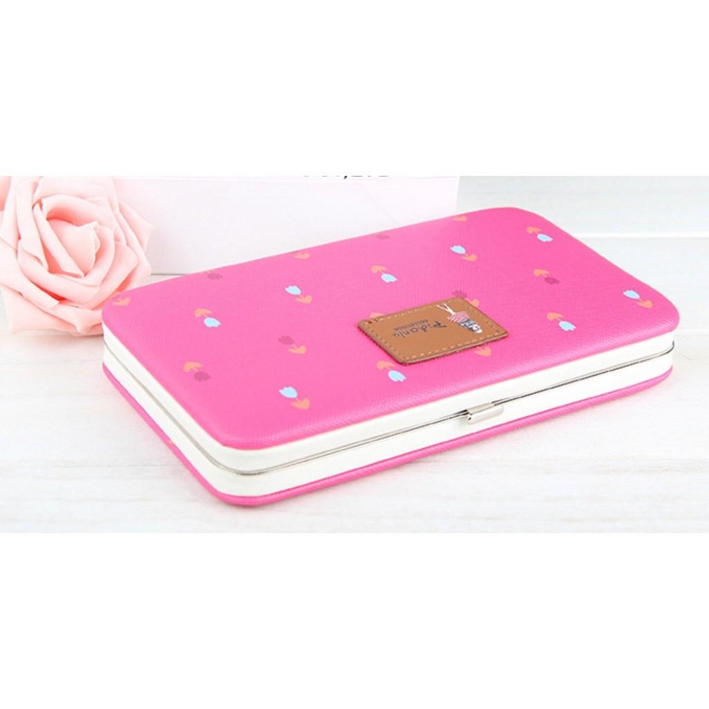 大容量手機錢包女用長夾長款女士学生多 手機包可放置5 7 吋手機 女士錢包大容量