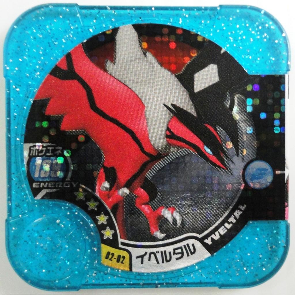 神奇寶貝Tretta 方形卡匣02 彈掌門等級四星卡~02 02 ~伊裴爾塔爾4 星#11
