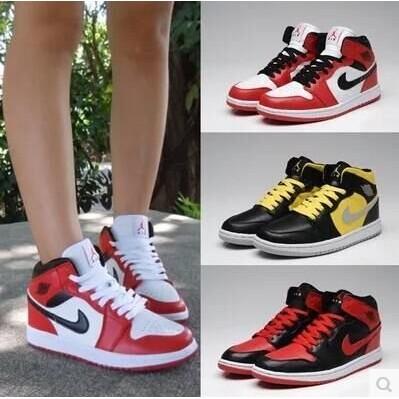 耐吉喬丹 男鞋籃球鞋喬丹1 代NIKE AIR JORDAN JD 飛人戰靴籃球裝備喬1