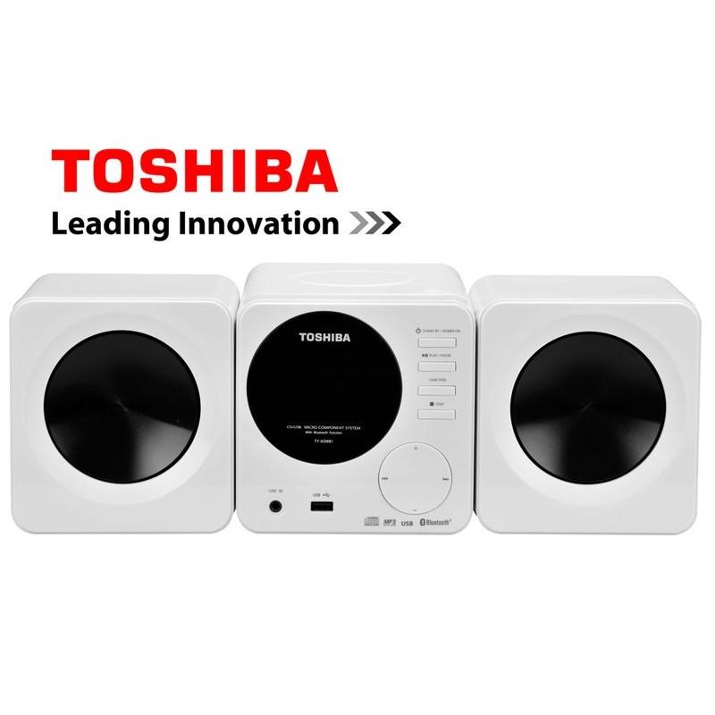 TOSHIBA 東芝CD MP3 USB 藍芽 音響TY ASW81TW