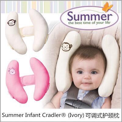 可調式兒童汽車座椅護頭枕推車枕枕頭U 型枕