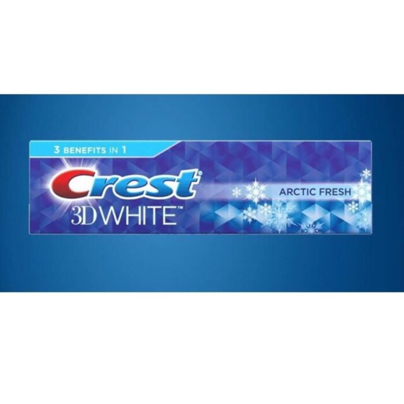 ~草莓族 ~美國Crest 3D White Arctic Fresh 極地清新亮白牙膏N