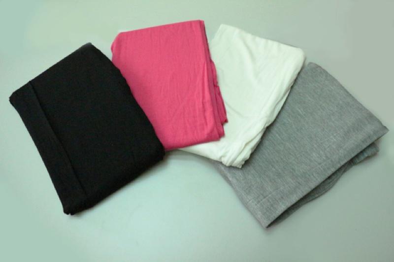 [蛋可可小舖]超舒適莫代爾修身彈力內搭褲打底褲九分褲薄款黑色白色淺灰玫紅