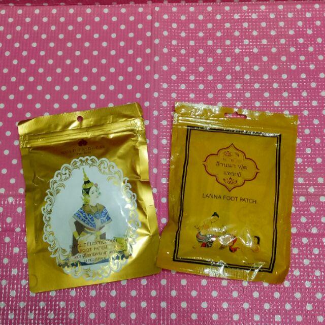 泰國 足貼LANNA FOOT PATCH GOLD PRINCESS 皇家蘭納牌ROYA
