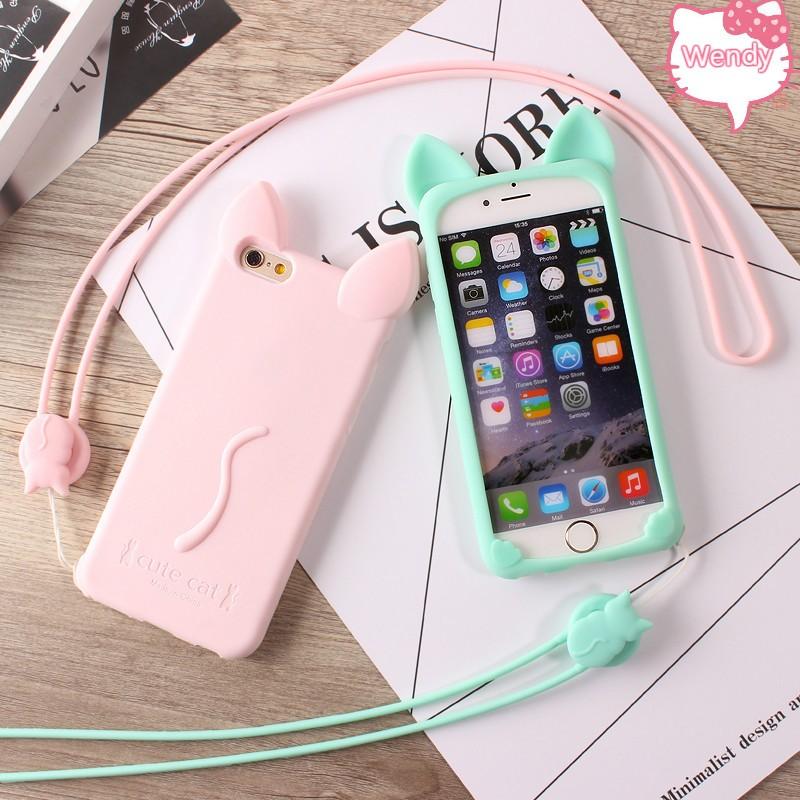 貓咪手機殼IPhone7 7plus 6 6s plus