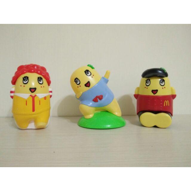 麥當勞限定船梨精聯名 兒童餐玩具