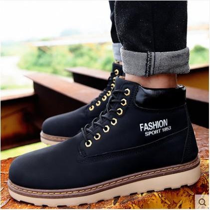 馬丁靴軍靴 潮流 男士皮靴棉鞋雪地靴工裝靴短靴高幫男靴子