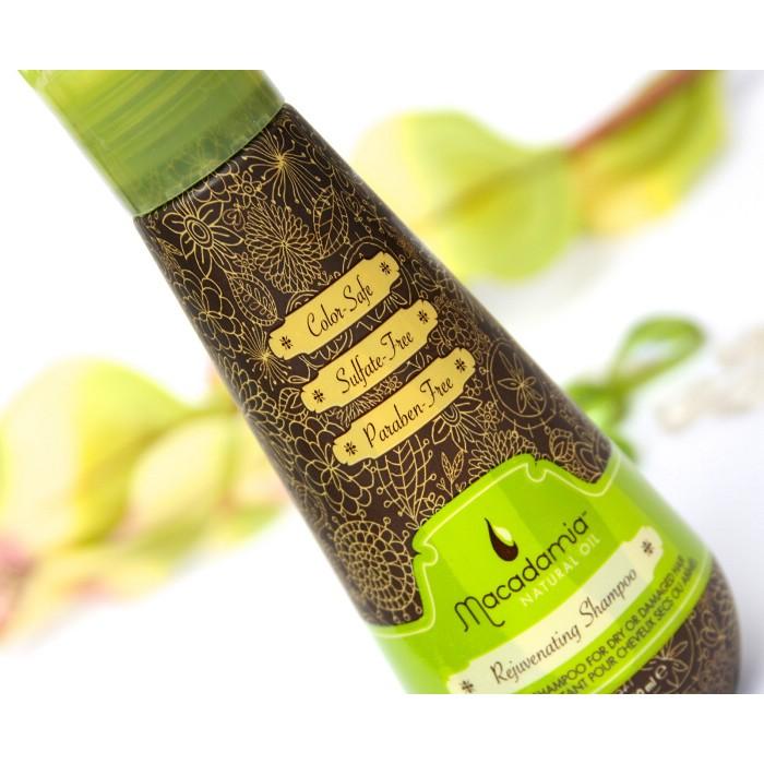 Macadamia 美國瑪卡油馥活髮浴100ml 旅行輕巧瓶洗髮精sh oo 含夏威夷堅果