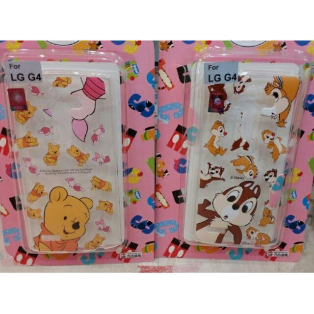 迪士尼手機殼G4 LGG4 米奇米妮維尼奇奇蒂蒂花栗鼠手機套保護套軟殼
