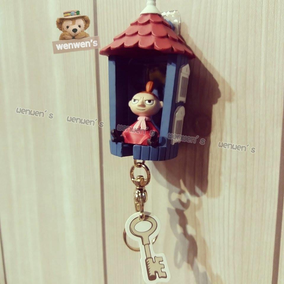 ~Wenwens ~ 帶回嚕嚕米Moomin 姆明雅美小不點小房子鑰匙圈壁掛鑰匙可攜式背面