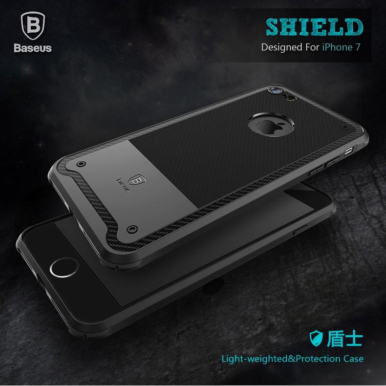 倍思Baseus 盾士系列iPhone7 7 plus 四角防摔保護殼矽膠手機殼7p 空壓