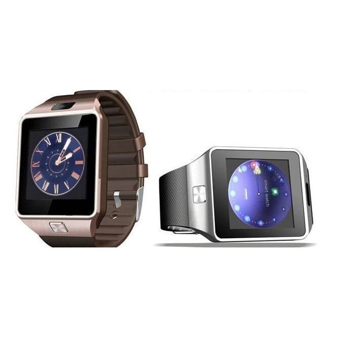版DZ09 智慧手錶3D 加速計步防盜插卡通話超高清炫彩LCD 屏手機智能藍牙手錶計步器、