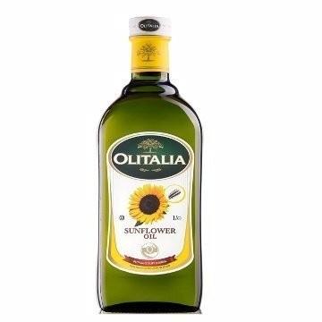 奧利塔Olitalia 向日葵葵花油1L 奧利塔向日葵葵花油奧利塔葵花油