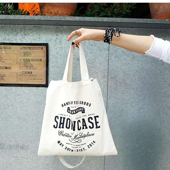肩背側背包包女包包軟妹帆布韓國ulzzang 街拍原創環保帆布袋字母文藝單肩包女簡約布袋包