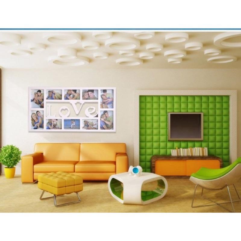 直購品歐式love 連體相片牆7 寸6 寸10 畫框 照片牆相框掛牆