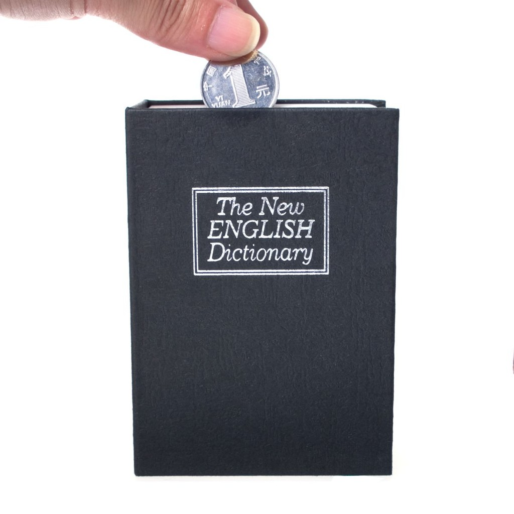~CP 值 商店~~迷你號鑰匙版書本保險箱約11 4 8 5 4 5 公分4 色~精緻英語
